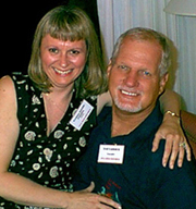 Donna Smith and Ted Cudnick